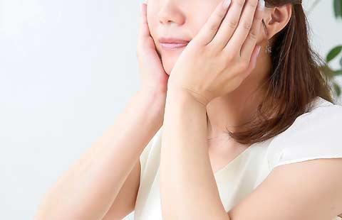 顔の筋肉や表情イメージ